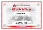 POUKÁZKA 2 000 Kč